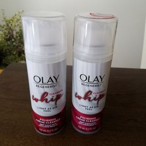 New Two Olay Regenerist Cleansing Whips